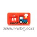 Детска дръжка - Влак, червен фон